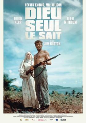 Dieu seul le sait de John Huston - affiche