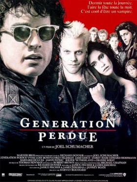 Generation perdue (The Lost Boys) - affiche