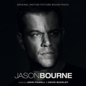 Jason Bourne - pochette musique composée par John Powell et David Buckley
