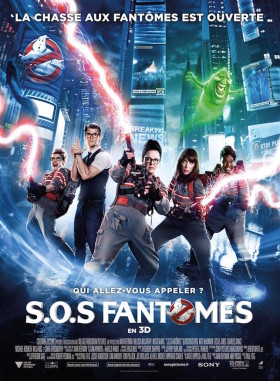 SOS Fantôme (Ghostbusters) - affiche reboot