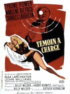 Témoin à charge (Witness For The Prosecution) - affiche