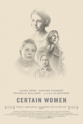 Certain Women de Kelly Reichardt - affiche