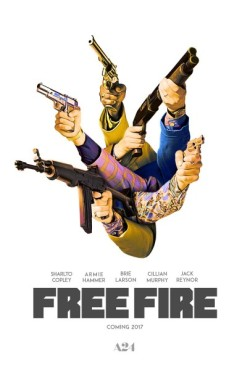 Free Fire - poster A24