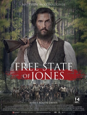 Free state of Jones de Gary Ross - affiche