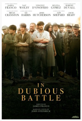 In Dubious Battle de James Franco - affiche