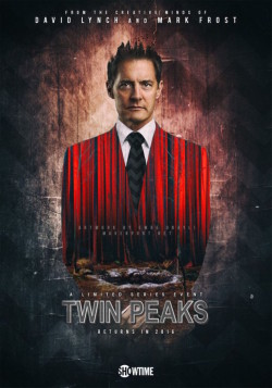 Twin Peaks suite - affiche Showtime