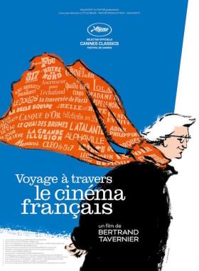 Voyage a travers le cinema francais de Bertrand Tavernier - affiche