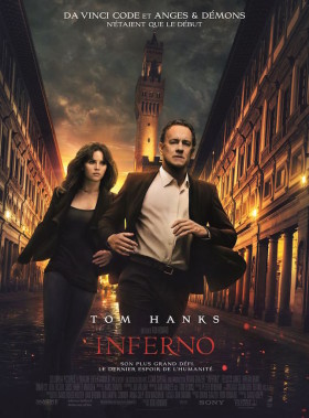 Inferno de Ron Howard - affiche
