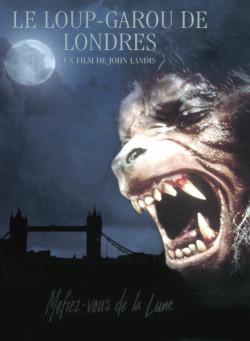Le Loup Garou de Londres - affiche