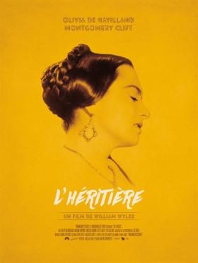 LHeritiere de William Wyler - affiche