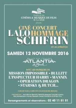 Lalo Schifrin - cine-concert - FEstival de Baule