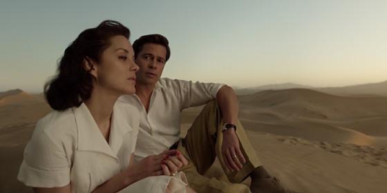 Marion Cotillard et Brad Pitt - Allies de Robert Zemeckis