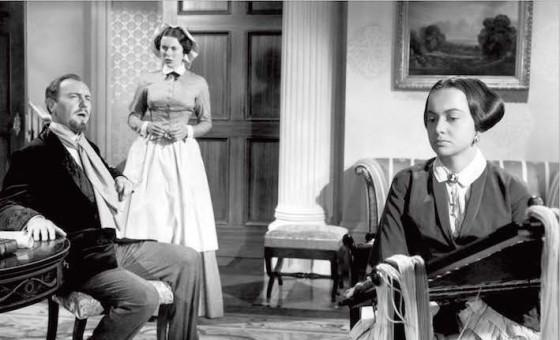 Olivia de Havilland et Ralph Richardson - LHeritiere de William Wyler