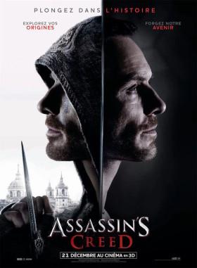 Assassin's Creed de Justin Kurzel - affiche