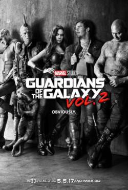 Les Gardiens de la Galaxie2 - affiche