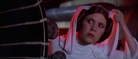 Carrie Fisher - Princesse Leia - Star Wars