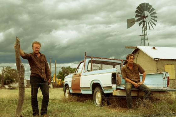 Ben Forster et Chris Pine - Comancheria