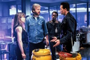 James Cameron, Linda Hamilton, Arnold Schwarzenegger - Terminator