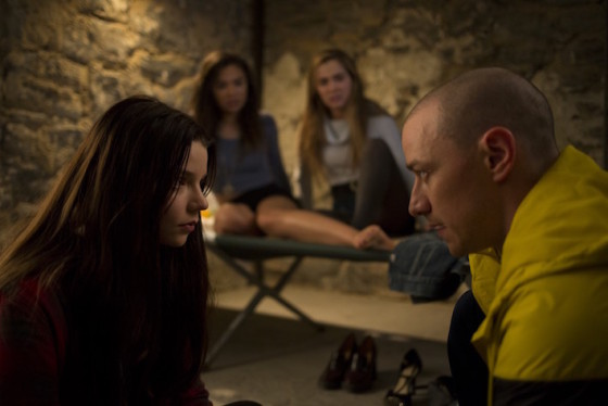 Anya Taylor-Joy et James McAvoy - Split