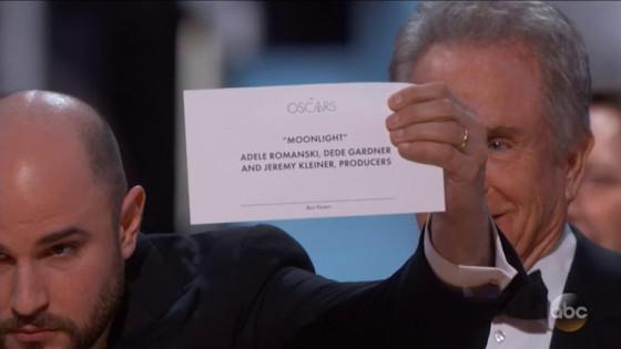 Oscars 2017 - Moonlight
