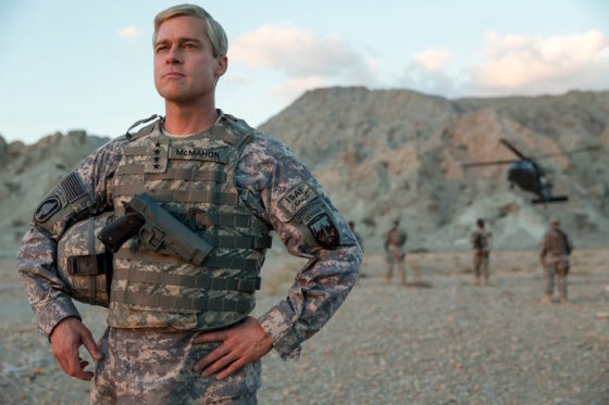 Brad Pitt - War Machine