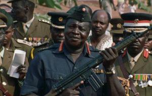 General Idi Amin Dada autoportrait