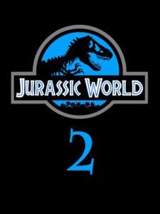 Jurassic World 2 - affiche logo teaser