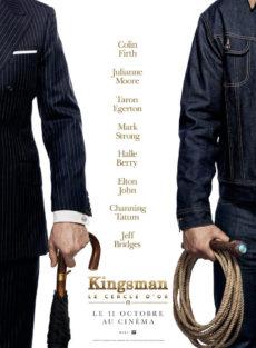 KingsmanLe cercle d'or - affiche