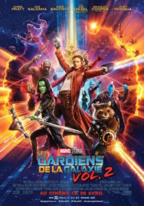 Les Gardiens de la Galaxie vol. 2 - affiche