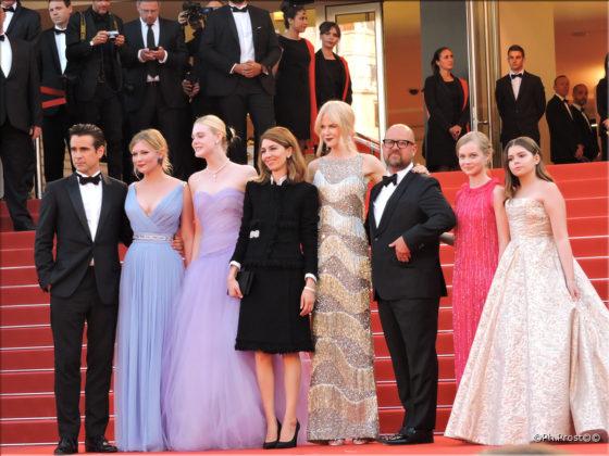 Equipe Les Proies de Sofia Coppola - Cannes 2017