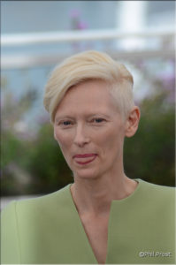 Tilda Swinton - Cannes 2017 - credit Philippe Prost pour CineChronicle