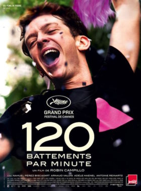 120 battements par minute - affiche