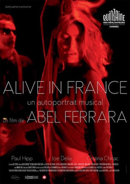 Alive in France - affiche