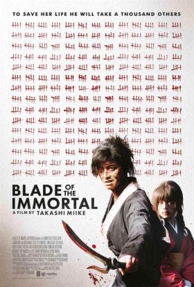 Blade of the Immortal de Takashi Miike - affiche