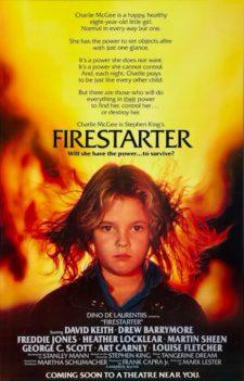 Firestarter (1984) - poster