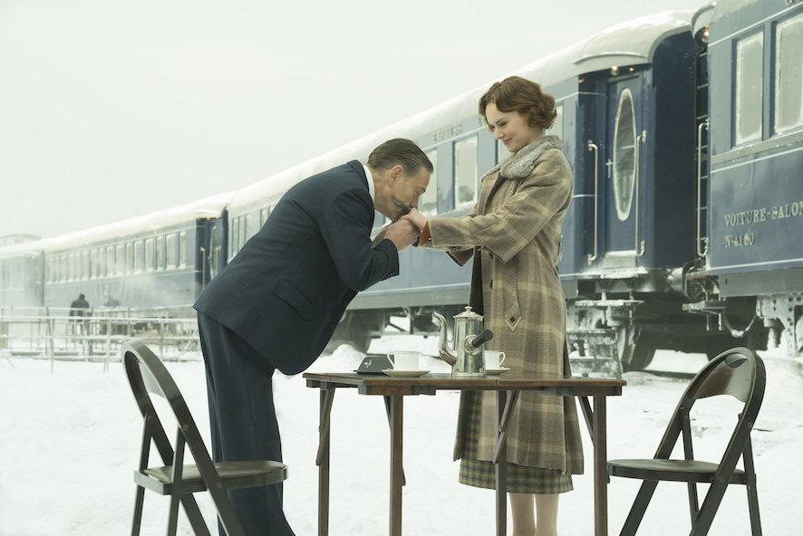 Le crime de lOrient Express - Kenneth Branagh et Daisy Ridley