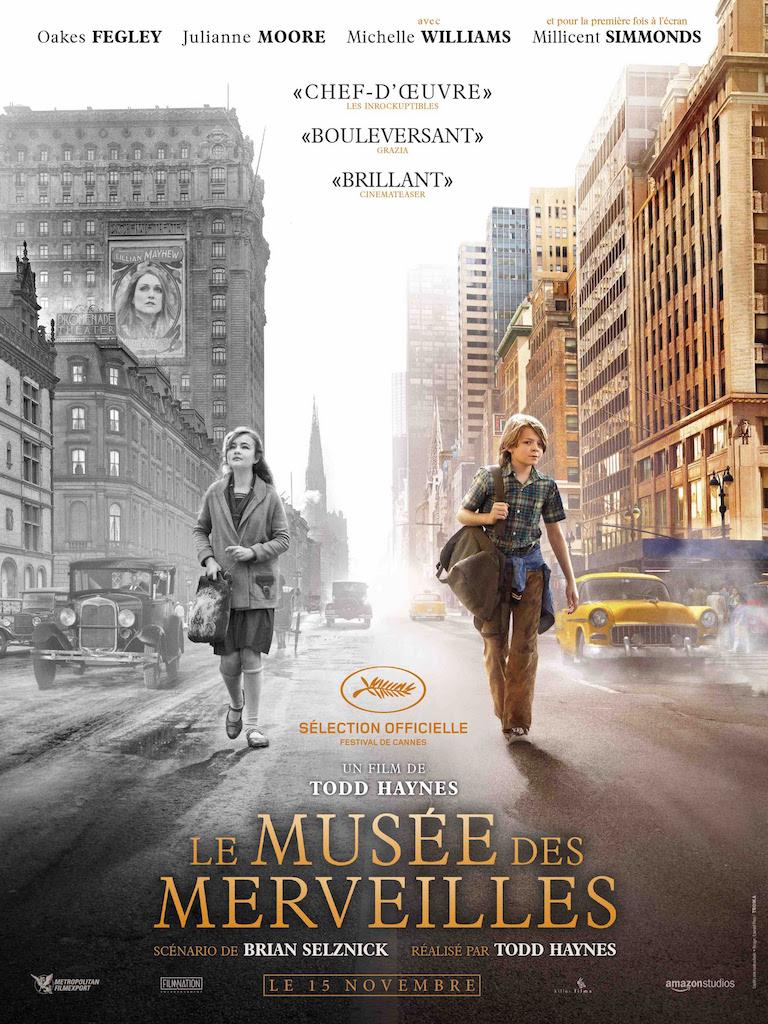 Le Musee des Merveilles de Todd Haynes - affiche