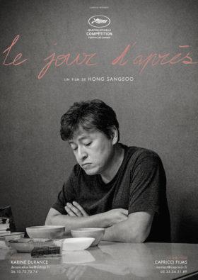 Le jour dapres de Hong Sangsoo - affiche