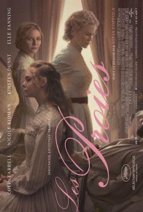 Les Proies de Sofia Coppola - affiche