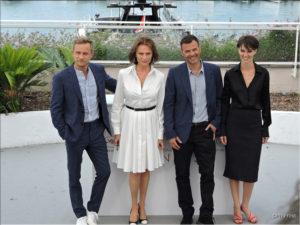 Marine Vacth, Francois Ozon, Jeremie Renier, Jacqueline Bisset - L'Amant double