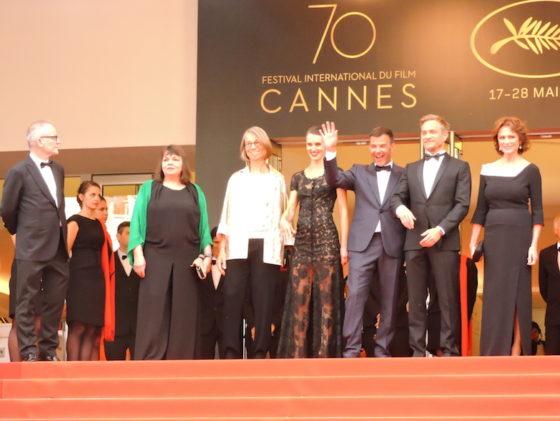 Equipe L'Amant double - Cannes 2017