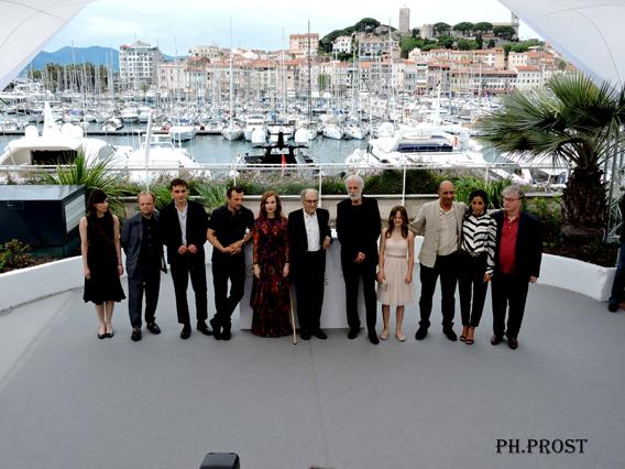 Equipe de Happy End - Cannes 2017