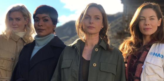Angela Bassett, Vanessa Kirby, Rebecca Fergusson et Michelle Monaghan - Mission Impossible 6