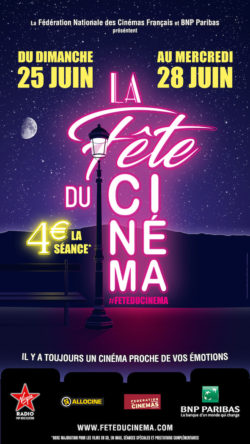 Fete du Cinema - affiche 2017