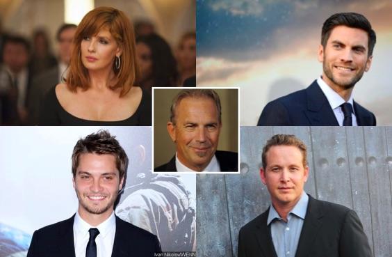 Kelly Reilly, Wes Bentley, Cole Hauser, Luke Grimes, Kevin Costner - Yellowstone de Taylor Sheridan
