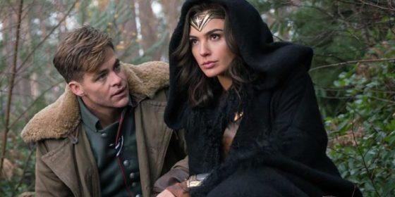 Wonder Woman et Steve Trevor - Gal Gadot et Chris Pine