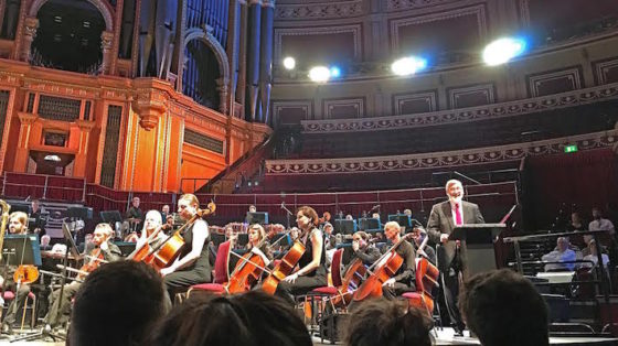 Elmer Bernstein - concert Royal Albert Hall - presentation John Landis