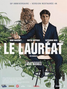 Le Laureat de Mike Nichols - affiche version restauree
