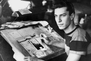 Martin Landau - dessinateur