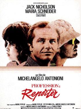 Profession Reporter de Michelangelo Antonioni - affiche